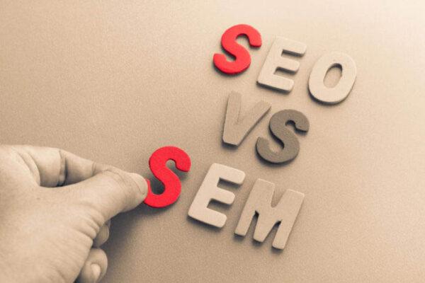 Khác biệt giữa SEM và SEO