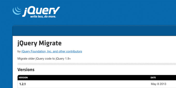 jQuery Migrate scaled