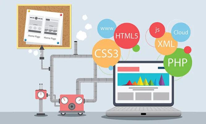 Lập trình web gồm những mảng nào