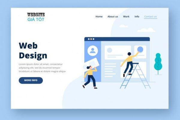 Dịch vụ thiết kế web quận 8