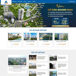 Mẫu web bất động sản 17