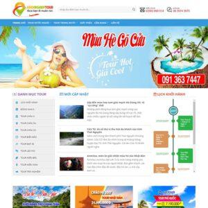 Mẫu web du lịch 17