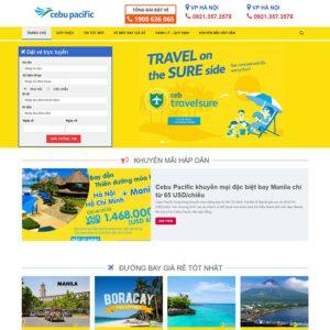 Mẫu web du lịch 18