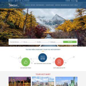 Mẫu web du lịch 4