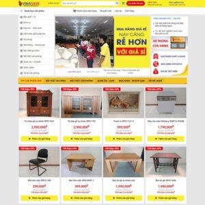 Mẫu web nội thất 10