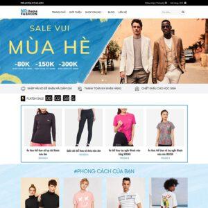 Mẫu web thời trang 1