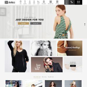 Mẫu web thời trang 11