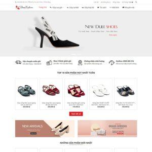 Mẫu web thời trang 12