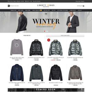 Mẫu web thời trang 8