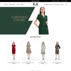 Mẫu web thời trang 9