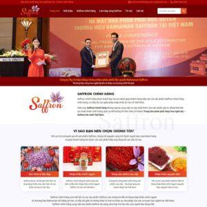 Mẫu web bán thực phẩm chức năng 5