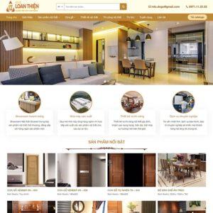 Mẫu web nội thất 11