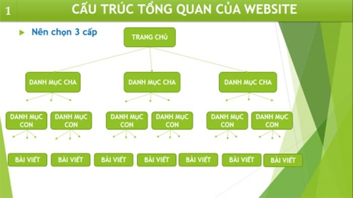 Cấu trúc trang web