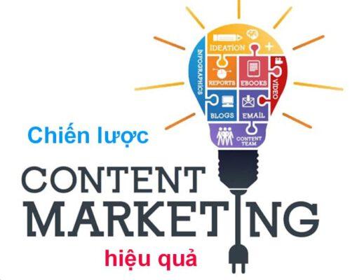 11 Chiến lược content marketing hiệu quả